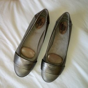 Life Stride 'Attention' Vegan Leather Flats Sz 7.5